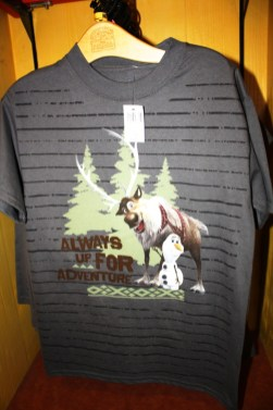 The Reindeer from Frozen with Olaf the snowman t shirt