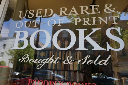 day trip Lambertville NJ Bookstore panoply