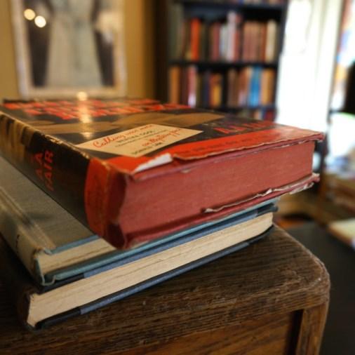 Lambertville NJ bookstore stack books