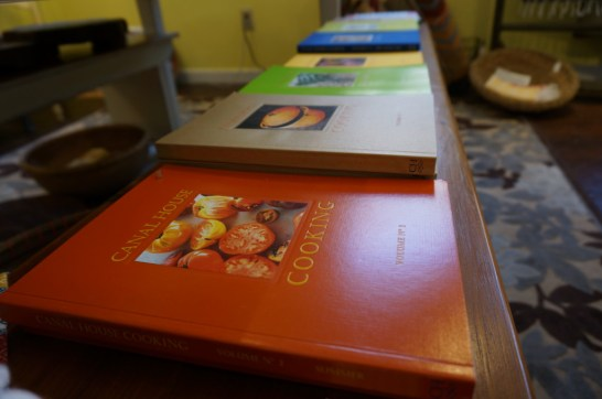 The shop stocks the colorful local cookbook series, Canal House cooking (I recommend Vol. 1, summer edition).