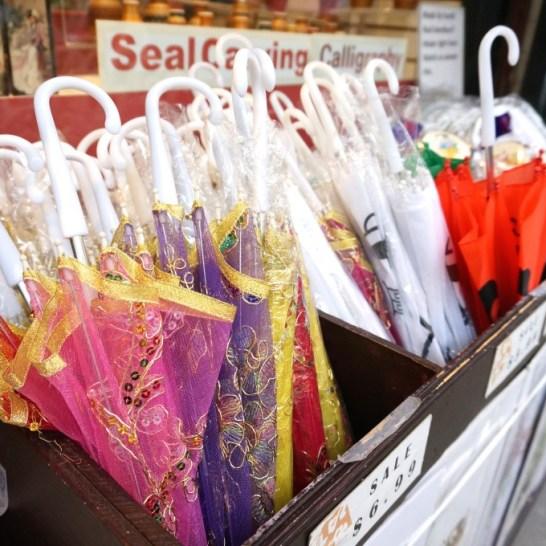 Skip the cheap plastic parasols in San Francisco's Chinatown.