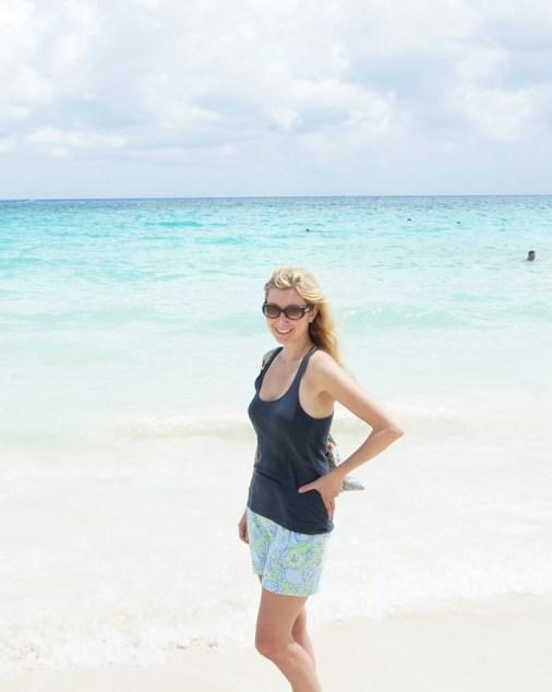 playa del carmen beach ocean mexico turquoise water