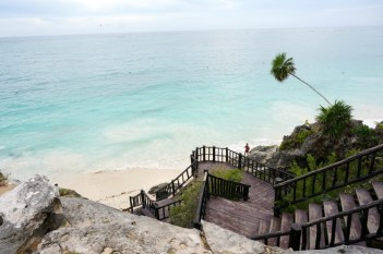 tulum ruins beach best