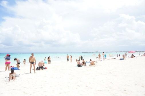 beach playa del carmen mexico ocean