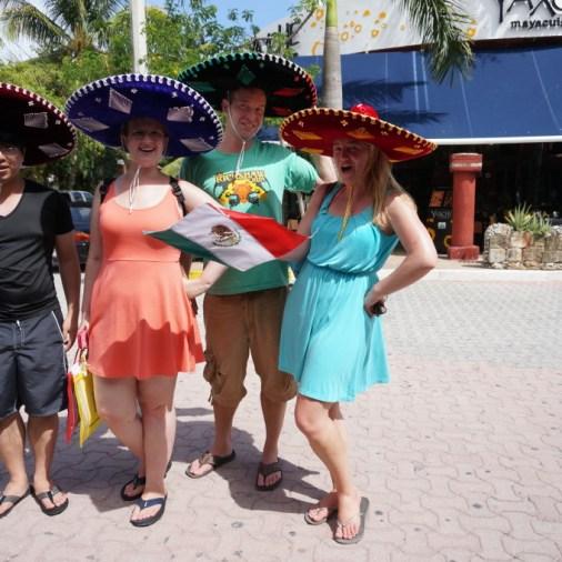 playa del carmen sombrero souvenir mexico fifth avenue