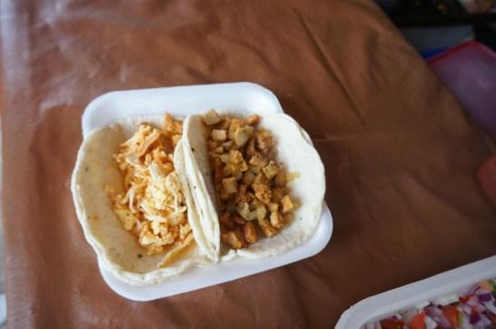 Tulum's best restaurant mexican food tacos