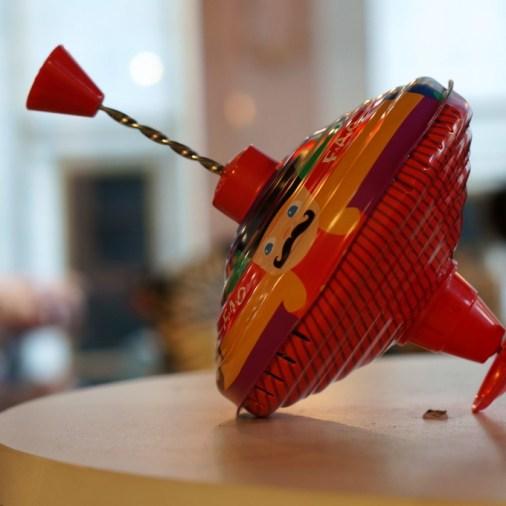 FAO Schwartz NYC toys kids tin top