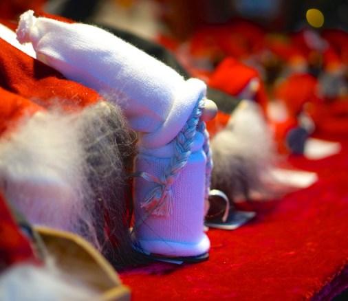 Stockholm Sweden Christmas Market Kungstradgården elves decoration wool