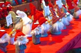 Stockholm Sweden Christmas Market Kungstradgården santa elves decoration ornament