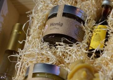 Vienna Austria Spittelberg Christmas Market honey