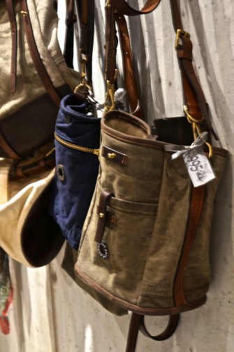 Hand made messenger-style bags-- a great gift for guys.