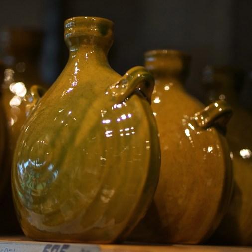 Ceramic vessels (souvenir from Vasa Museum Gift Shop, Stockholm, Sweden).