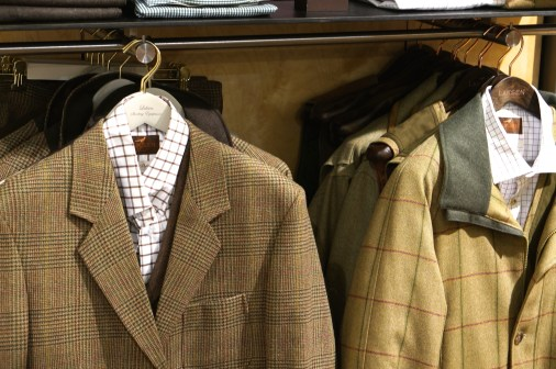 Beautifully made men's jackets.