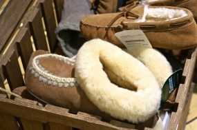 austrian slippers wool sheepskin