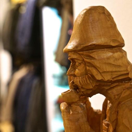 austrian souvenir wood carving