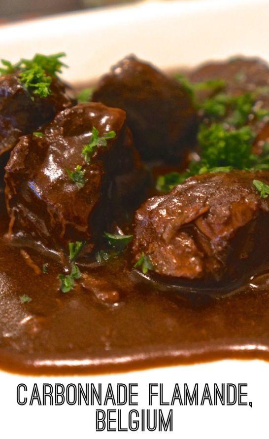 Belgian Beef stew Carbonnade Flamande