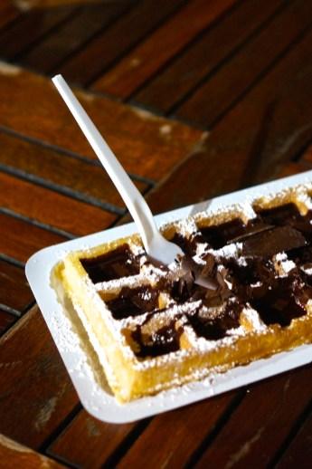 Belgian Waffles Brussels Style