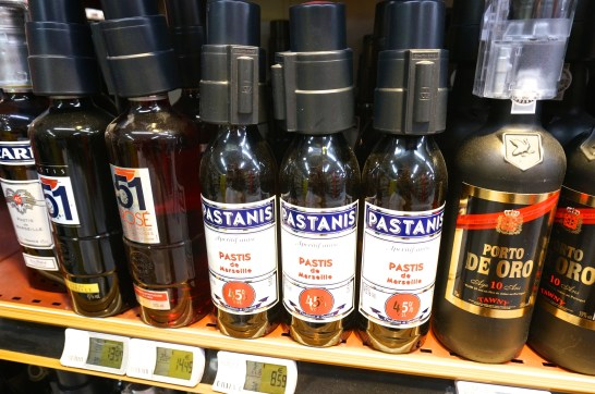 Pastis: what to buy at Monoprix.