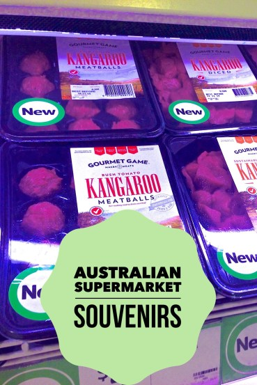 Shop Australian Supermarket For Travel Souvenirs Kangaroo