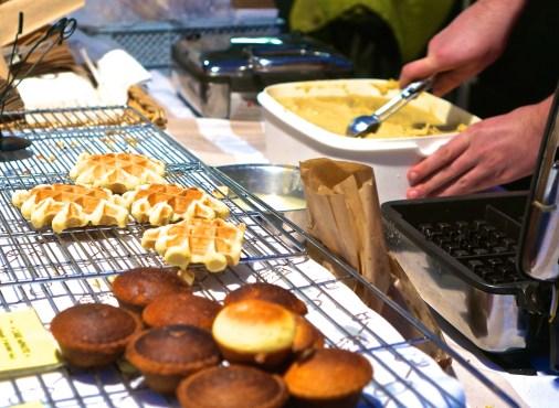 Belgian Waffles In Brussels market