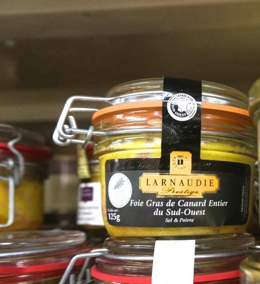 French Supermarket Finds Foie Gras
