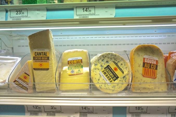 French Supermarket Souvenir Monoprix Cheese Brie