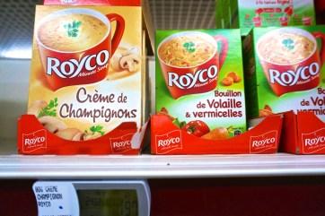 French Supermarket Souvenir Monoprix Packaged Soup