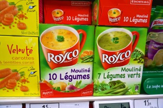 French Supermarket Souvenir Monoprix Vegetable Soup