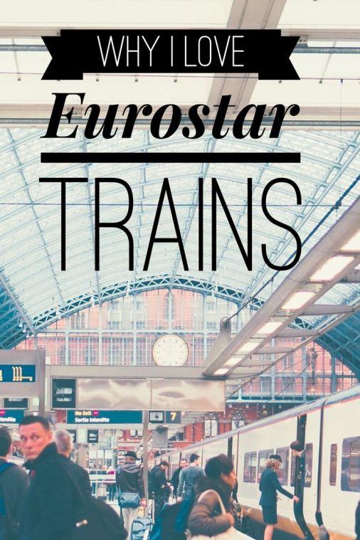Views from Eurostar train