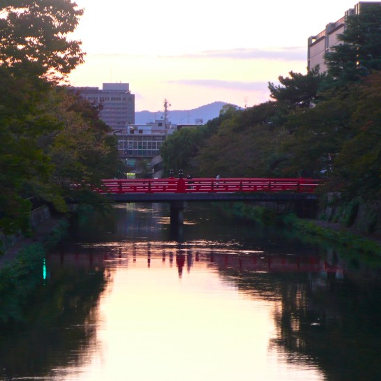 Kyoto, bridge to Heian Shrine
