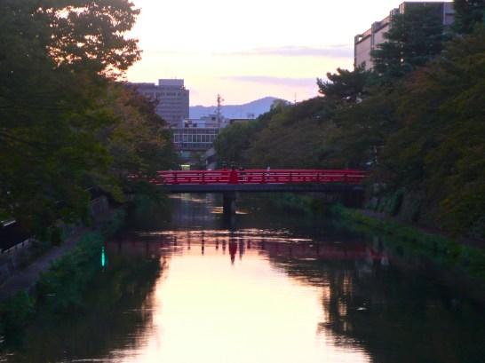 Kyoto, bridge to Heian Shrine
