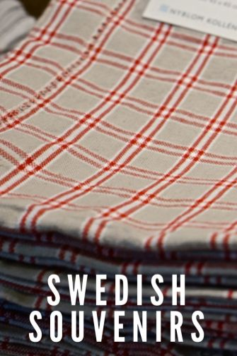 Swedish Linens Decor Vasa Musuem Stockholm Sweden Travel Souvenir