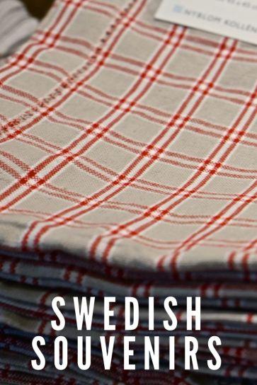 Swedish Linens Decor Vasa Musuem Stockholm Sweden Travel Souvenir