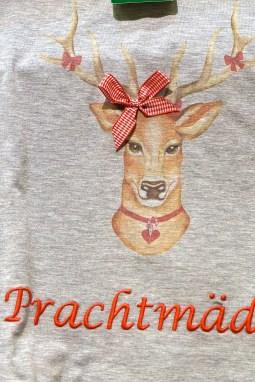 Austrian Souvenirs Stag Tshirt