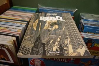 Comics Brussels Belgium Souvenir Shopping Book