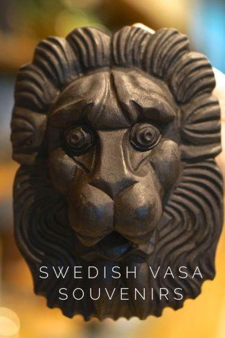 Lion Mask Vasa Musuem Stockholm Sweden Travel Souvenir
