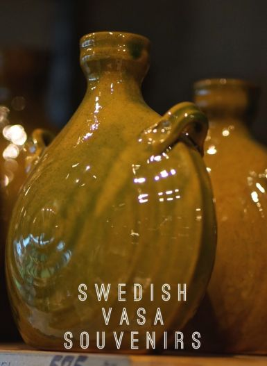 Pottery Vasa Musuem Stockholm Sweden Travel Souvenir