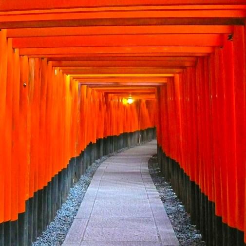 Red Tori Gates Japan