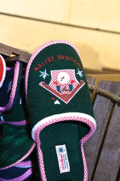 Shopping Austrian Souvenirs Wool Slippers
