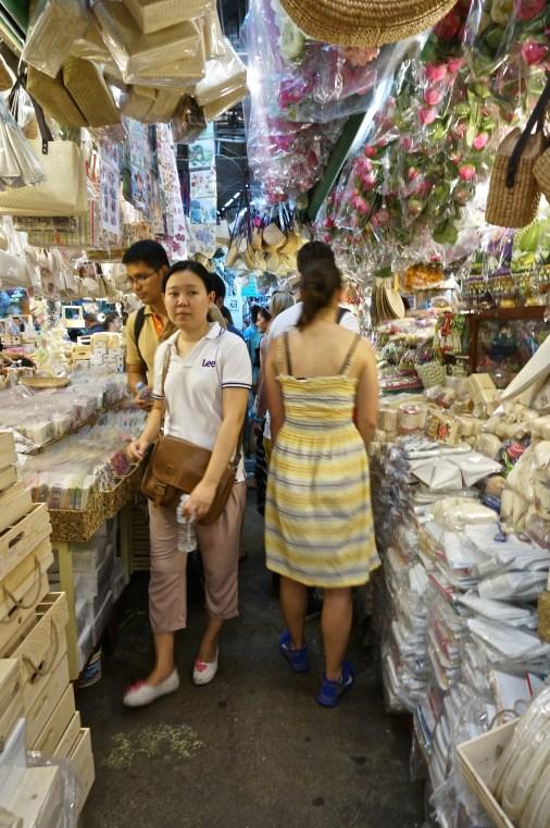 home goods at JJ Market, Bangkok.