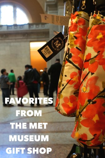 Metropolitan Museum of Art New York City souvenirs gifts