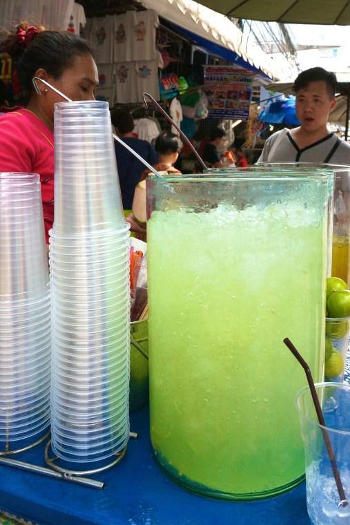 Fresh Thai Drinks Street Vendors