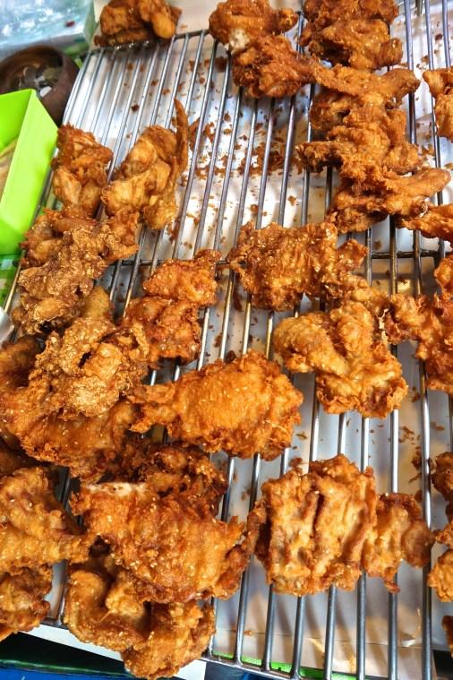 Thai fried chicken at Bangkok's Chatuchak Market (JJ market).
