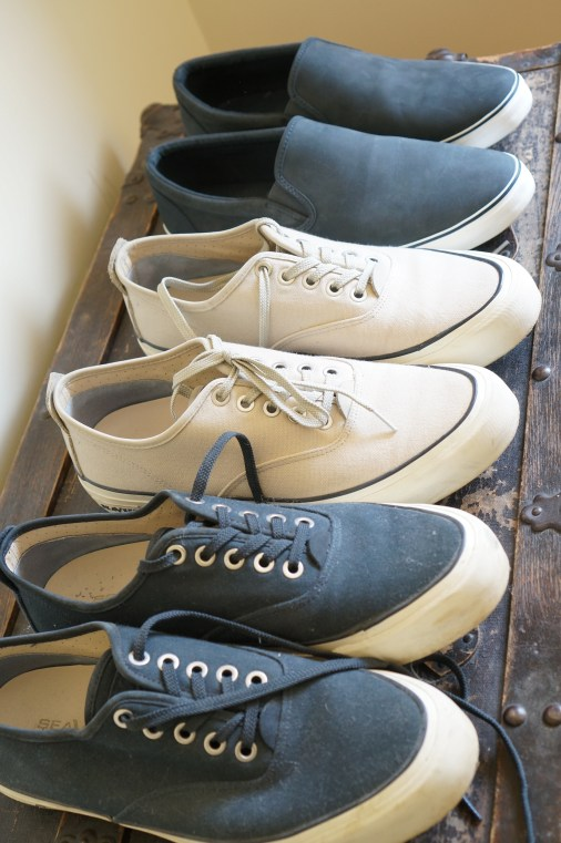 J reviews the best men's sneakers for travel in Europe.