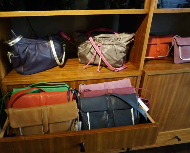 Handbag Shop Store Marais Paris France