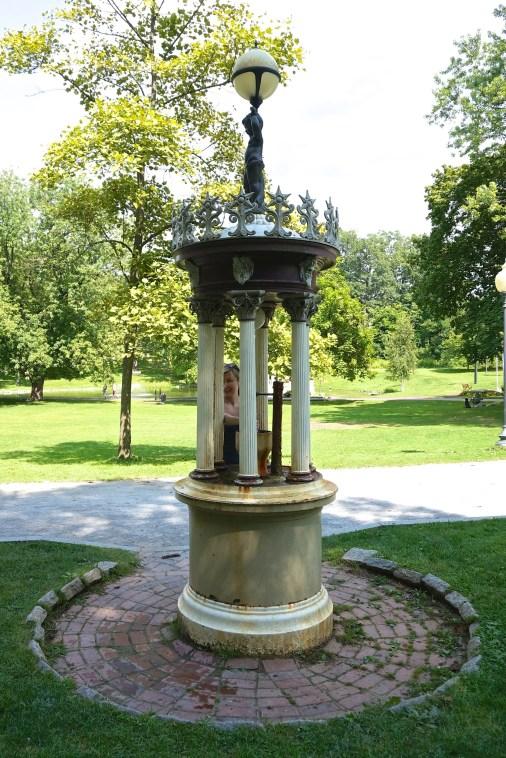 Saratoga Springs Water Fountains Historic Ny Congress Park
