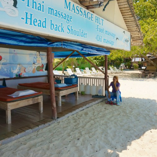 Yes I did get an incredible Thai massage here that made me feel like jello.