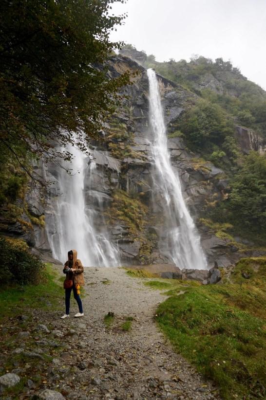 Acquafraggia waterfall