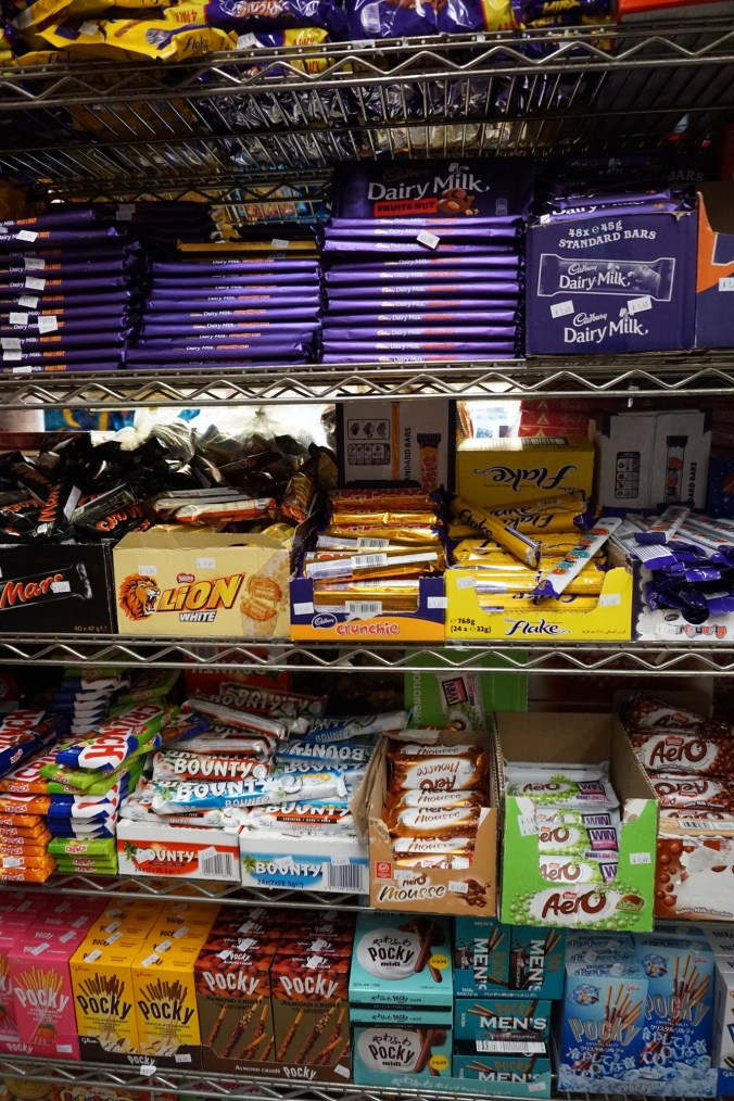 Chocoholics rejoice-- economy candy carries all kinds of chocolates, from fancy European ones to traditional.