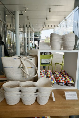 The most oractical but stil beautiful items were the home accessories and tableware (Whitney Museum of American Art Gift Shop)